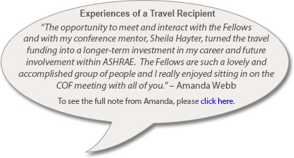 Experiences of a Travel Recipient